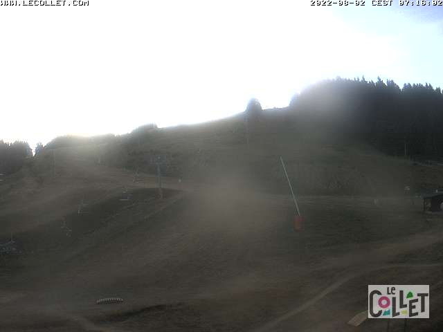 Webcam Belledonne - Le Collet d'Allevard - 1450m