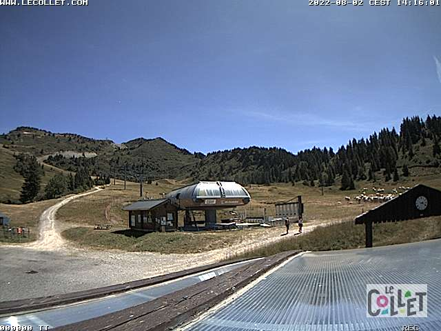 Webcam Belledonne - Le Collet d'Allevard - Super Collet - 1650m