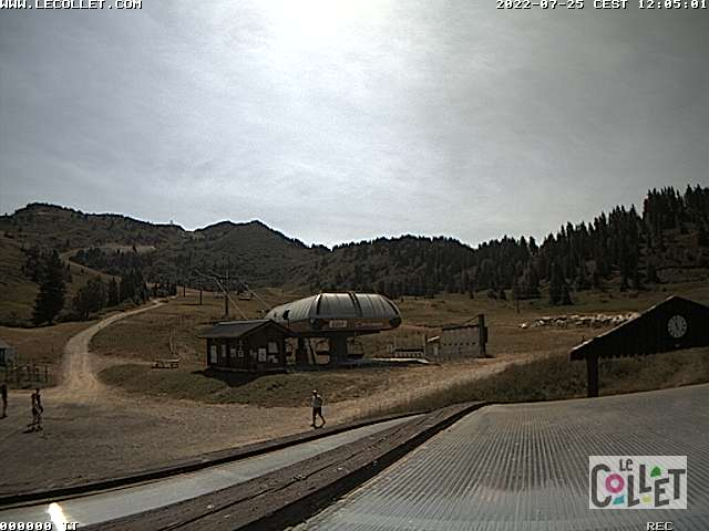 Webcam Collet d'Allevard Super Collet 1650 m